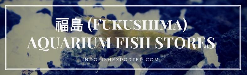 Fukushima Perfecture, Fukushima Fish Stores, Fukushima Japan