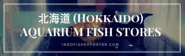 Hokkaido Perfecture, Hokkaido Fish Stores, Hokkaido Japan
