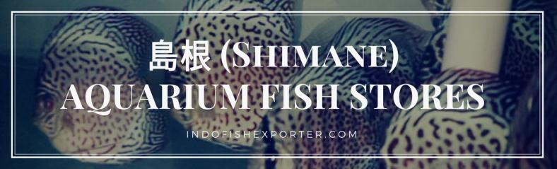 Shimane Perfecture, Shimane Fish Stores, Shimane Japan